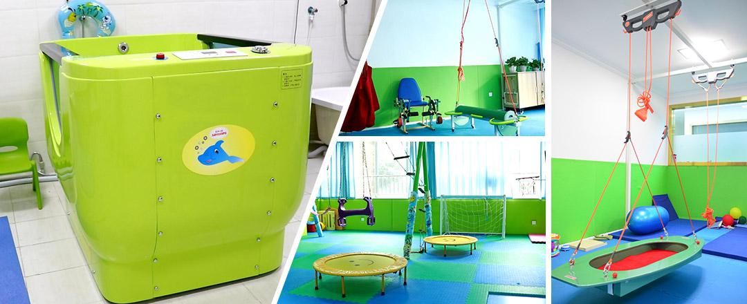 成都高新中童儿童康复医院康复设备
